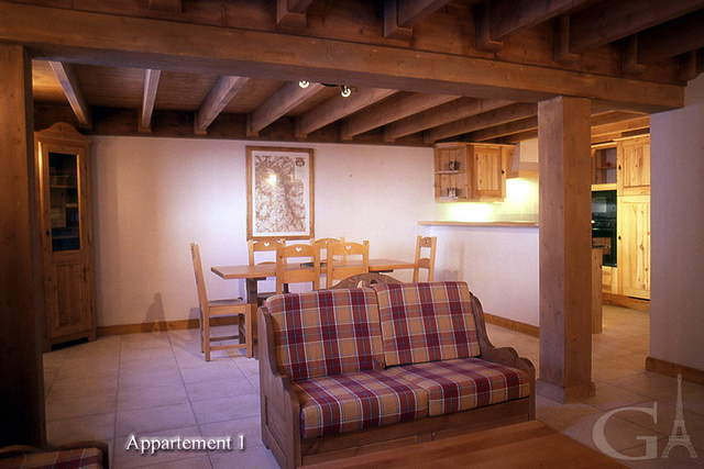 2-bedroom apartment at a French ski resort